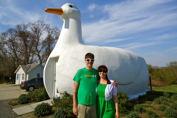The Big Duck in Flanders, NY; Roadsight Relics; Roadside Attractions