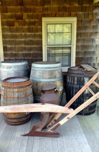 Barrels at the Inn