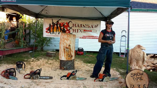 Chainsaw Chick Sara Winter