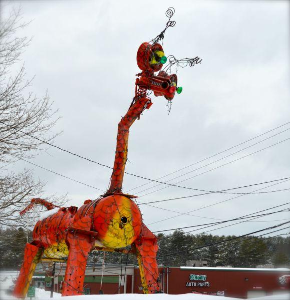 Roadsight Relics Junk Bug, Roadside Attractions Maine